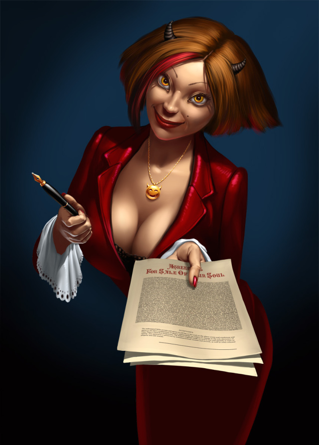 640x893_9725_Only_sign_it_up_2d_character_girl_woman_devil_fantasy_contract_picture_image_digital_art